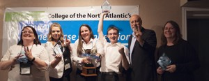 Grand Falls-Windsor takes Business Case title for second year