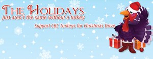 CBC turkey drive kicks off this week