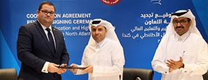 CNA, State of Qatar ratify three-year agreement