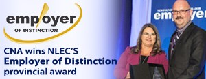 College of the North Atlantic presented with Employer of Distinction award