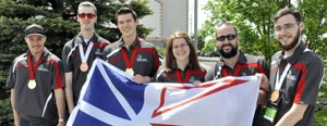 CNA students win six medals at Skills Canada National Competition